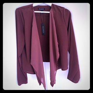 Brand new silk like blazer-3 colors - Size S